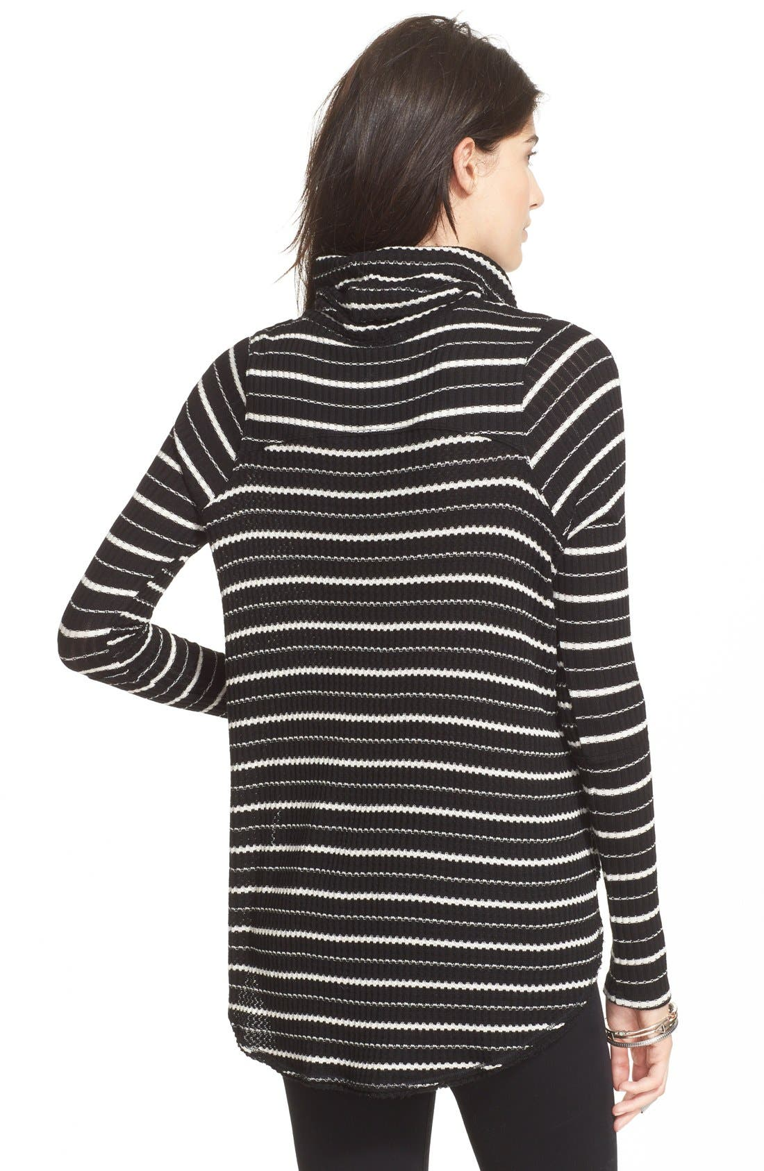 Alternate Image 2  - Free People Stripe Drippy Thermal Tee
