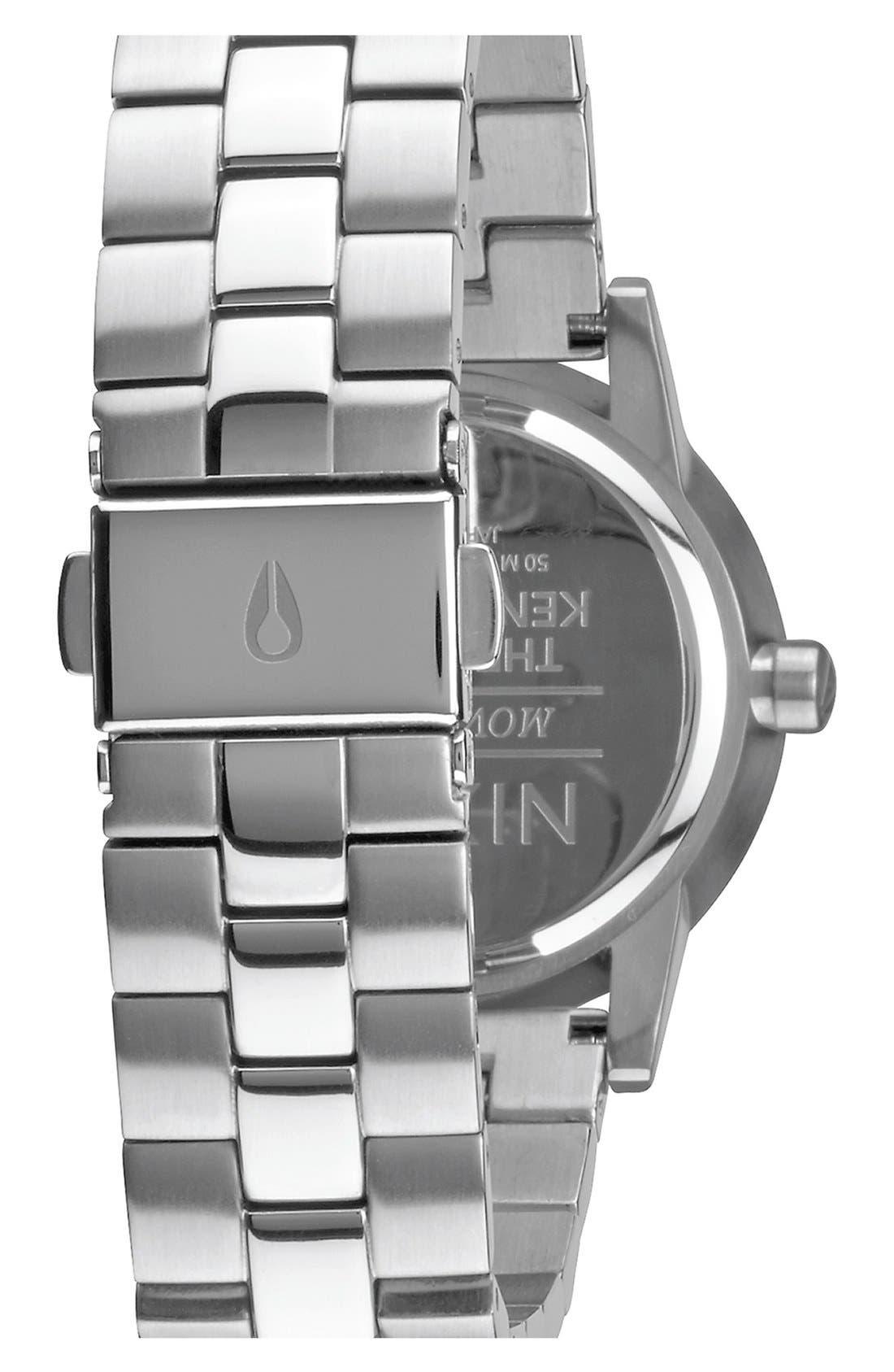 'Kensington' Bracelet Watch, 32mm,                             Alternate thumbnail 2, color,                             Silver