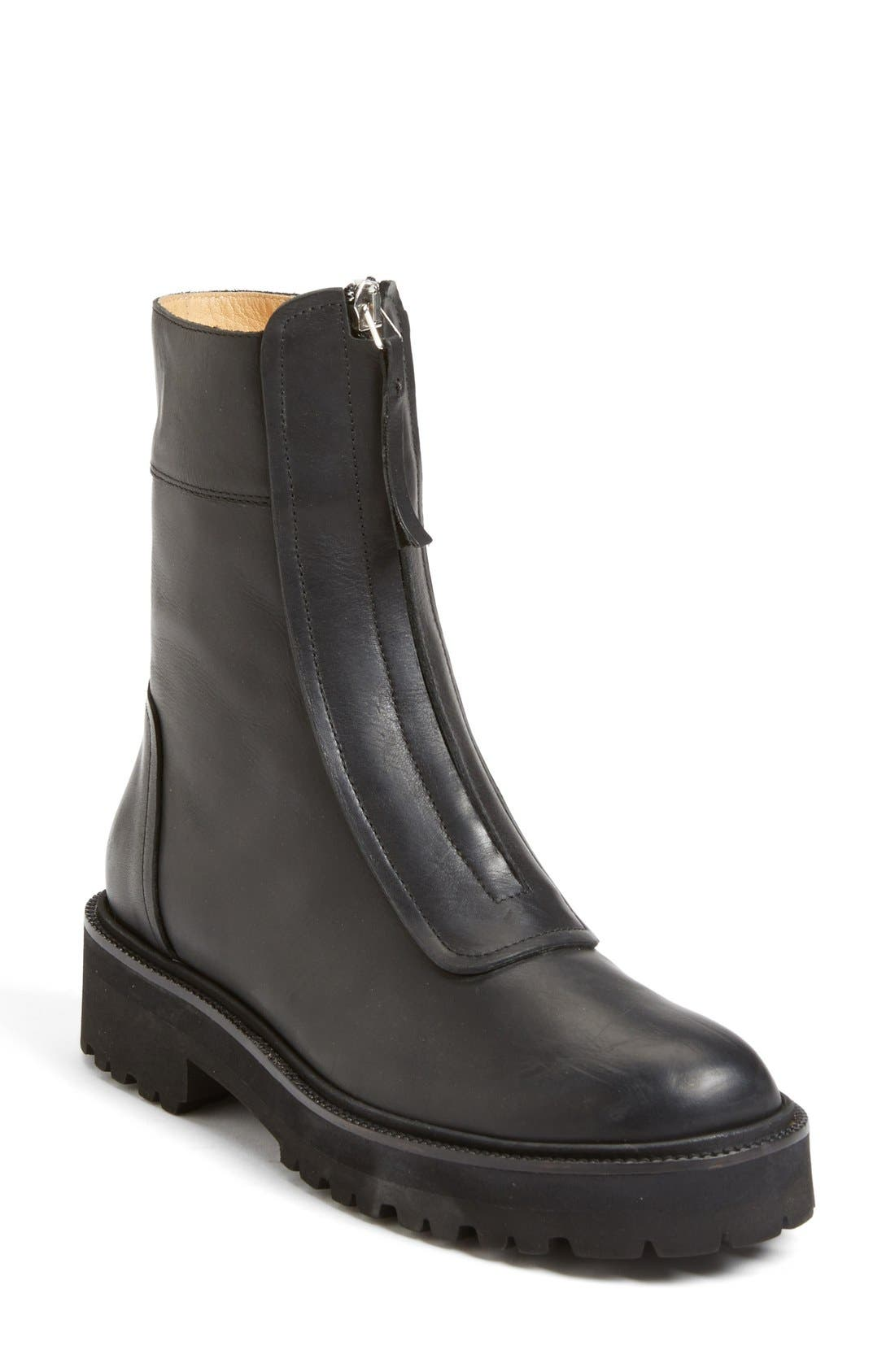 Alternate Image 1 Selected - MM6 Maison Margiela Zip Chelsea Boot (Women)