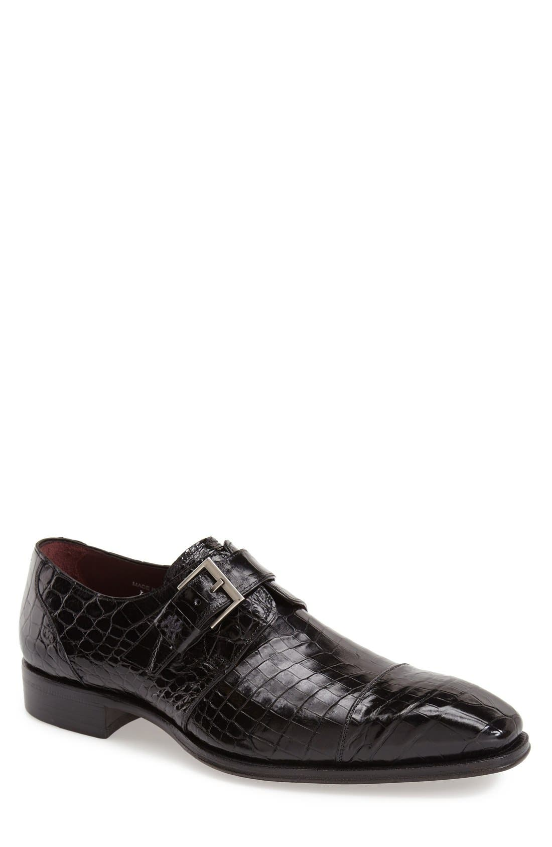 Mezlan 'Berlin' Monk Strap Shoe (Men)