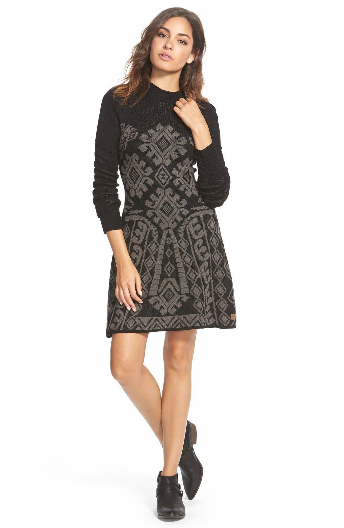 Main Image - Element 'Maren' Jacquard Sweater Dress