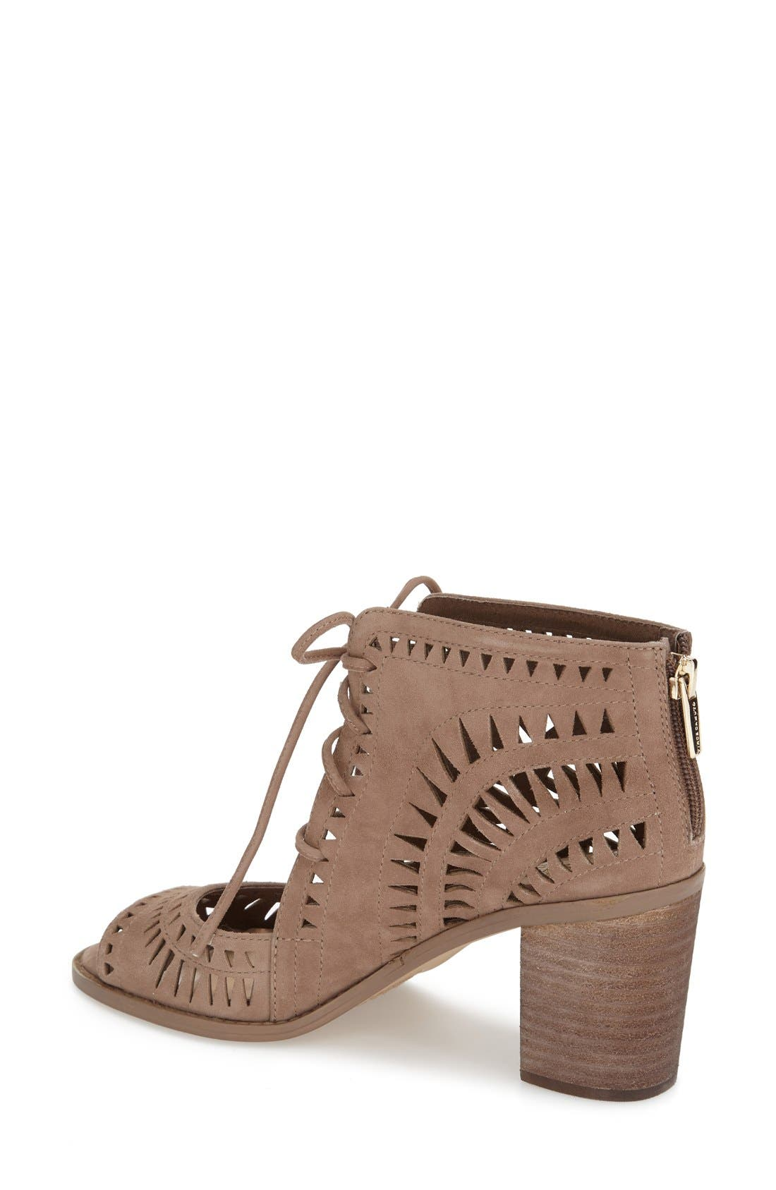 Alternate Image 2  - Vince Camuto 'Tarita' Cutout Lace-Up Sandal (Women) (Nordstrom Exclusive)