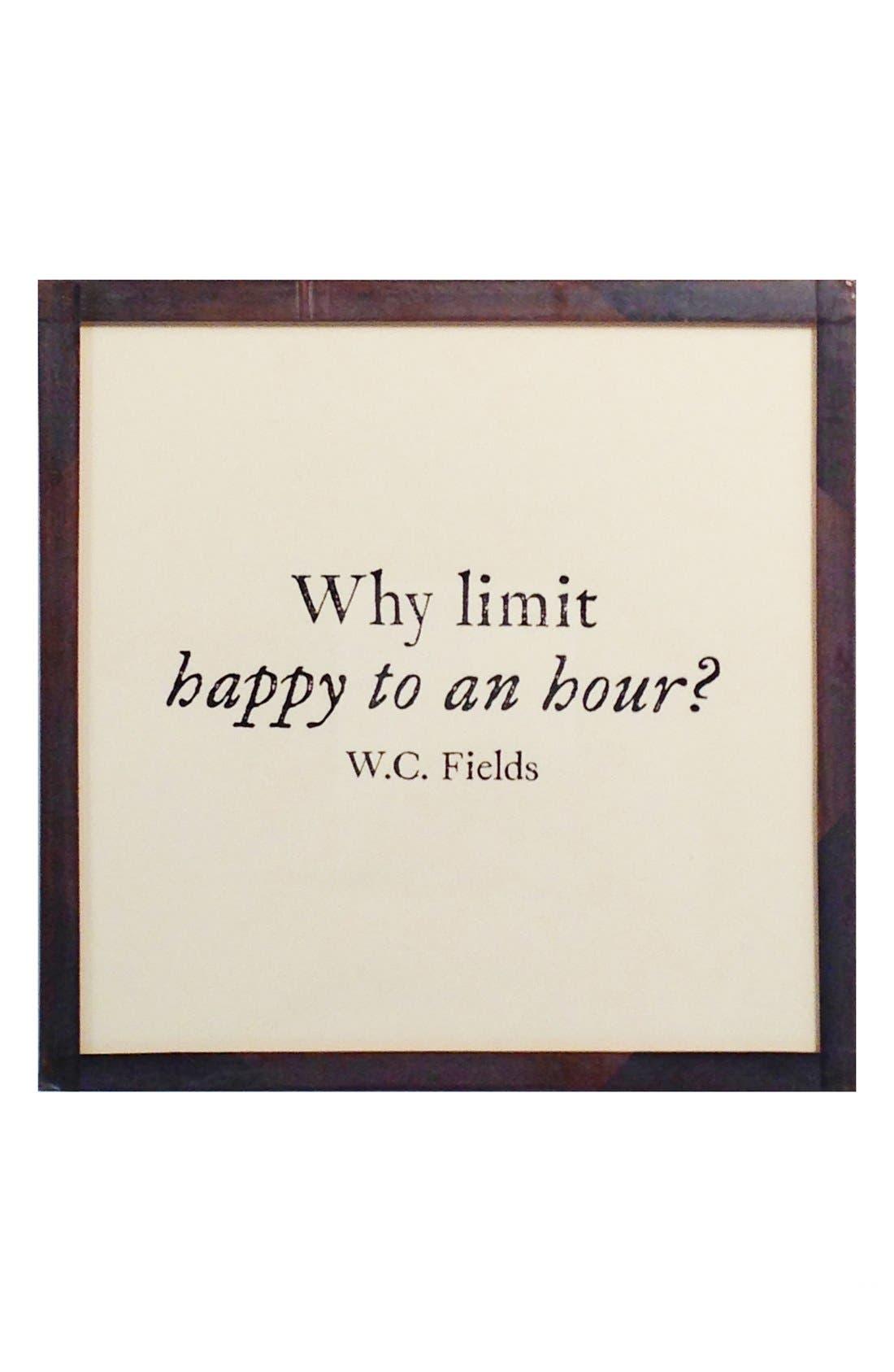 Alternate Image 2  - Ben's Garden 'Why Limit Happy' Coaster Set