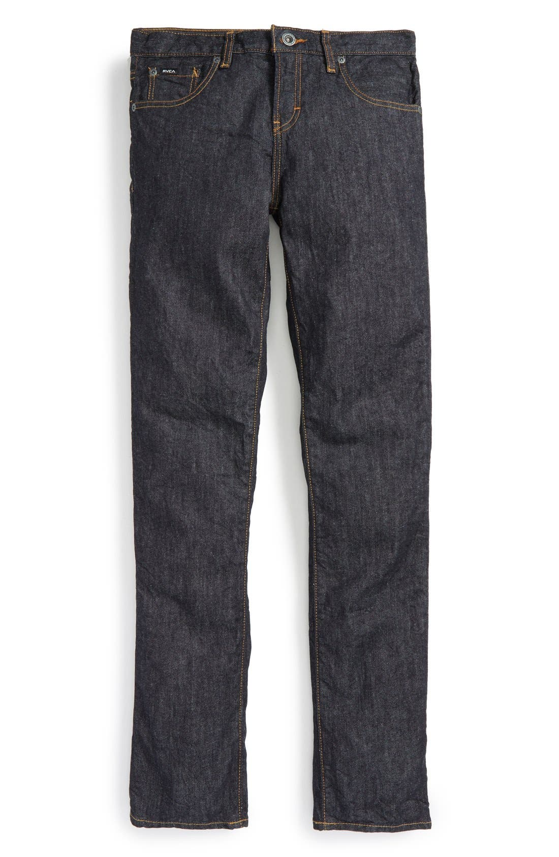 RVCA 'Daggers' Slim Fit Jeans (Big Boys)