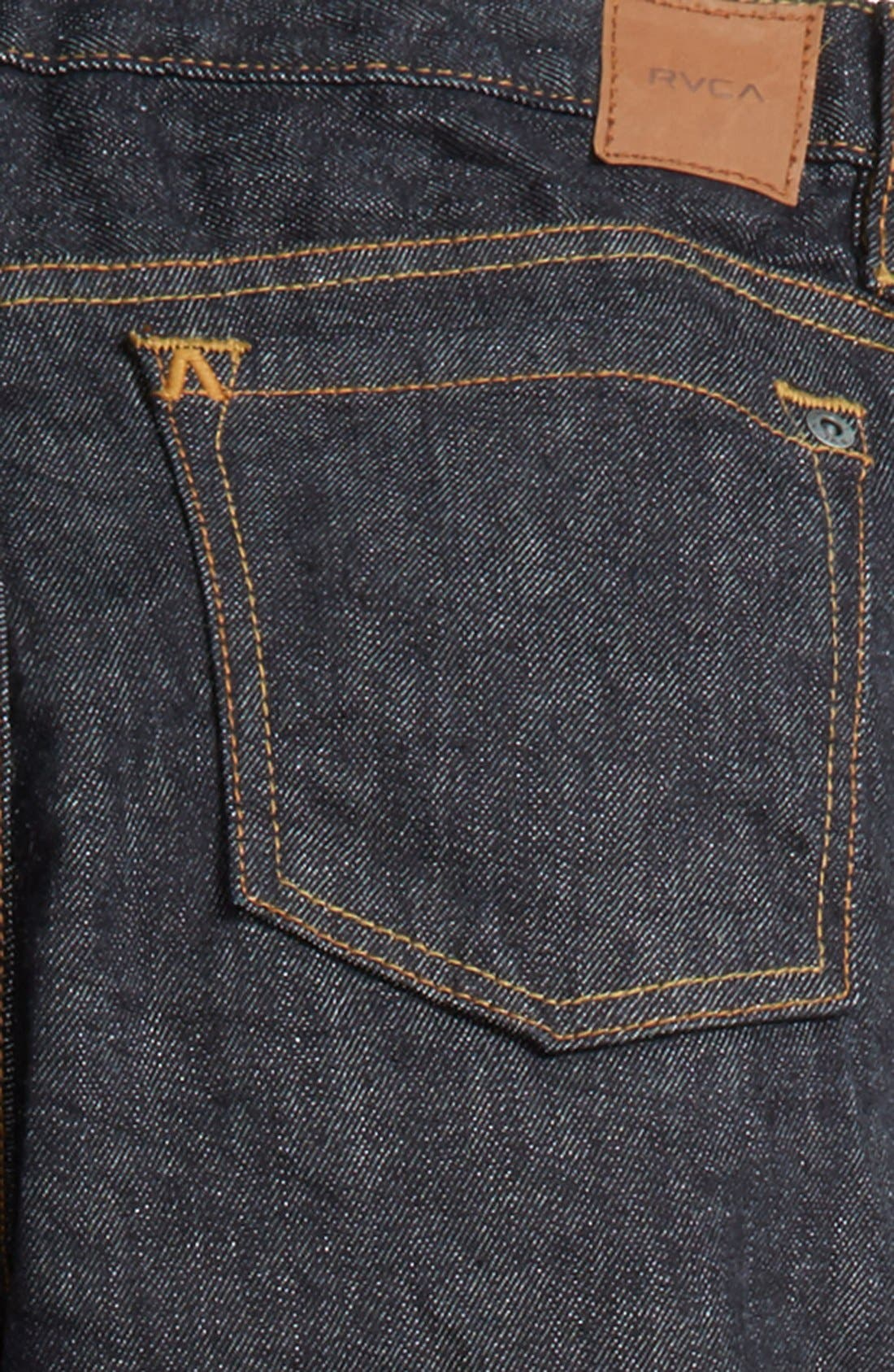 'Daggers' Slim Fit Jeans,                             Alternate thumbnail 3, color,                             Deep Indigo