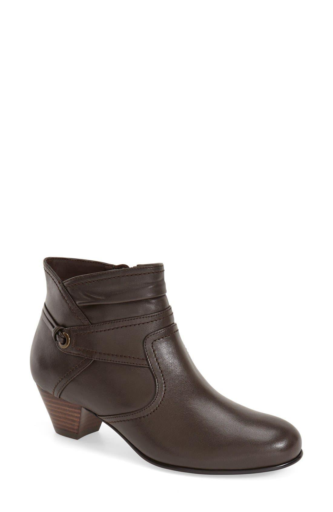 'Campus' Boot,                         Main,                         color, Brown Calfskin