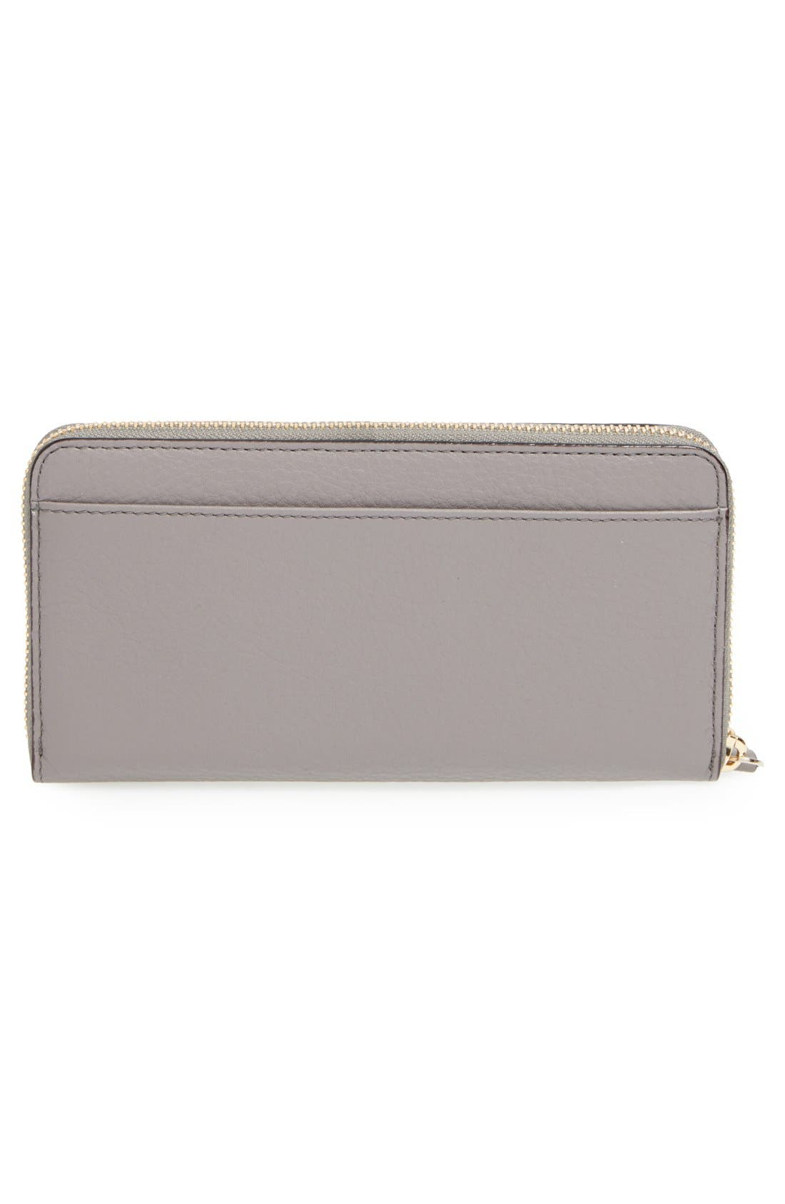 Alternate Image 4  - kate spade new york 'cobble hill - lacey' zip around wallet