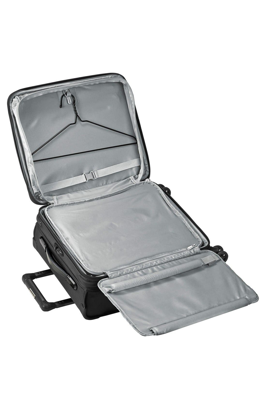 Baseline Wide Body Expandable 21-Inch Rolling Packing Case,                             Alternate thumbnail 2, color,                             Black