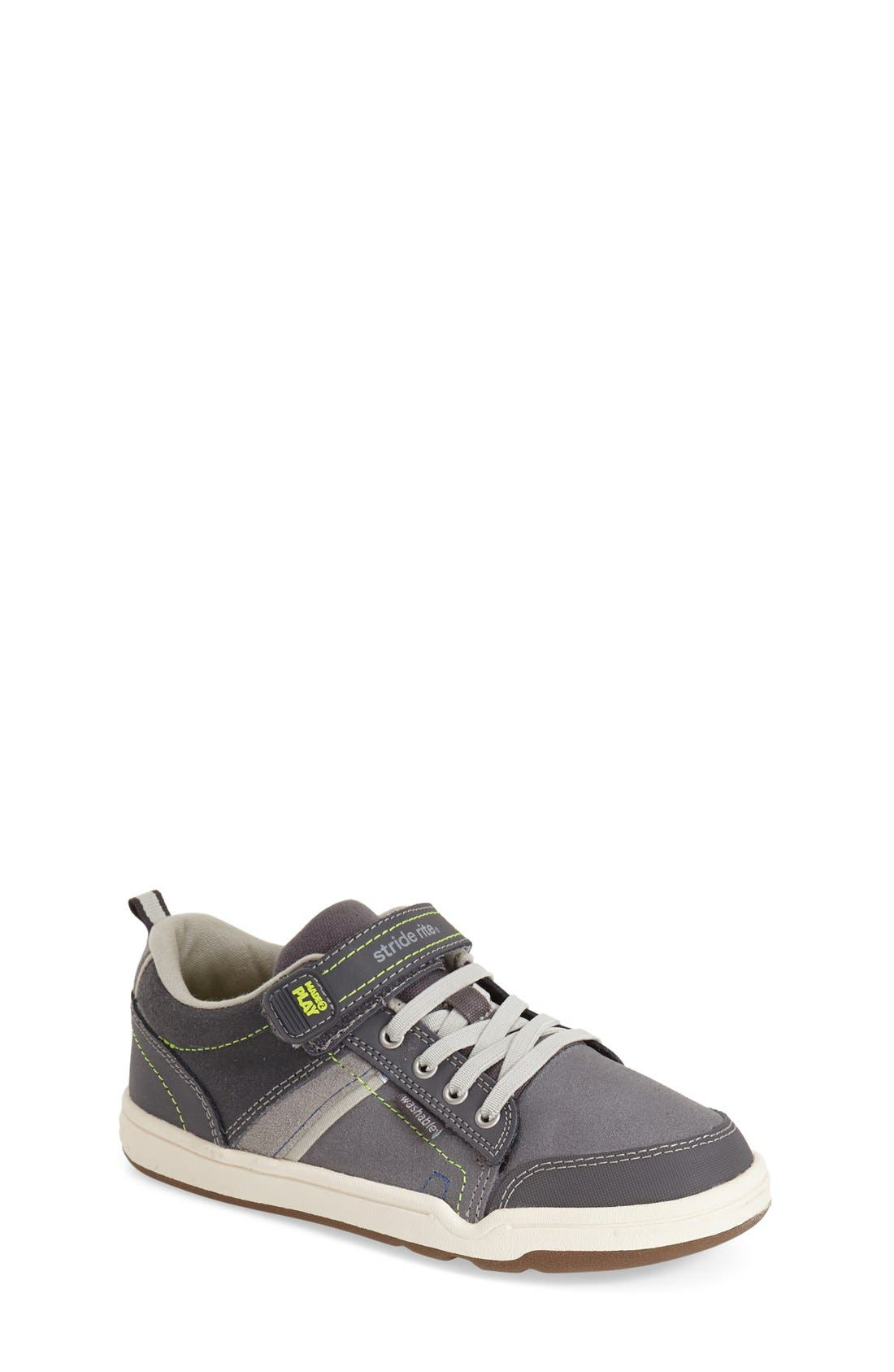 Alternate Image 1 Selected - Stride Rite 'Made 2 Play® Caleb' Sneaker (Toddler & Little Kid) (Online Only)