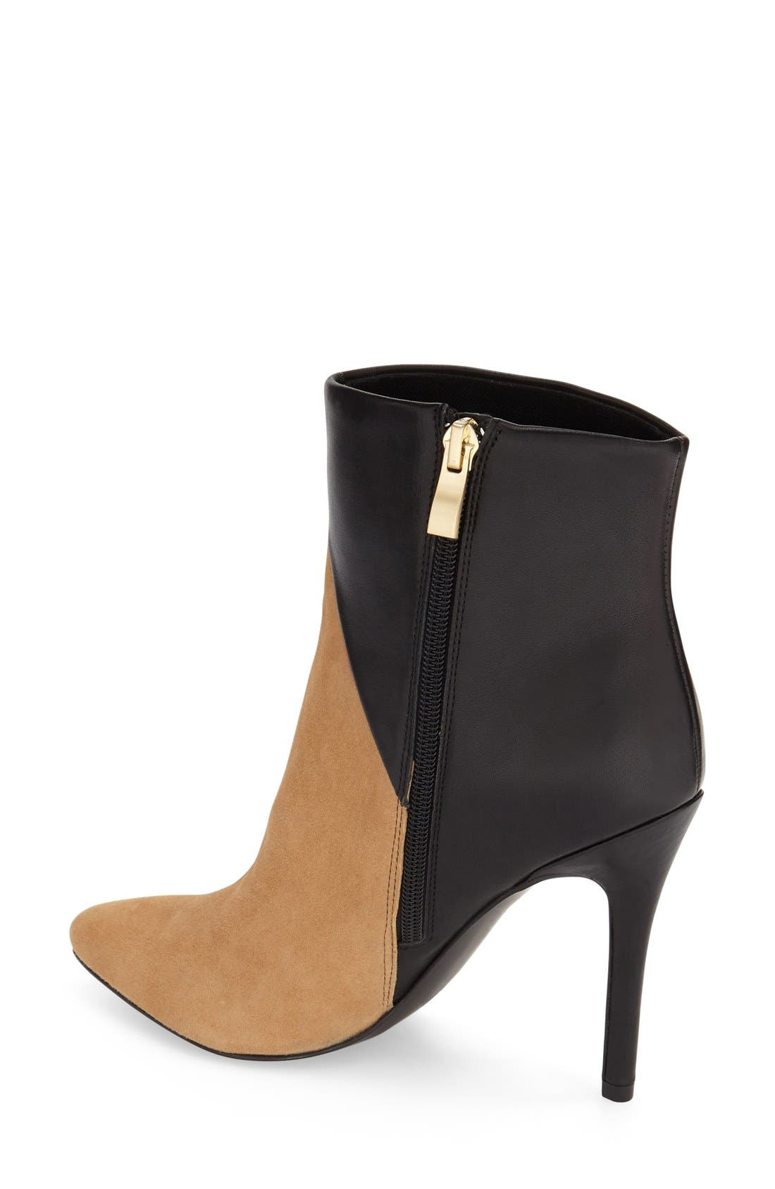 Alternate Image 2  - Charles by Charles David 'Pine' Pointy Toe Bootie (Women)