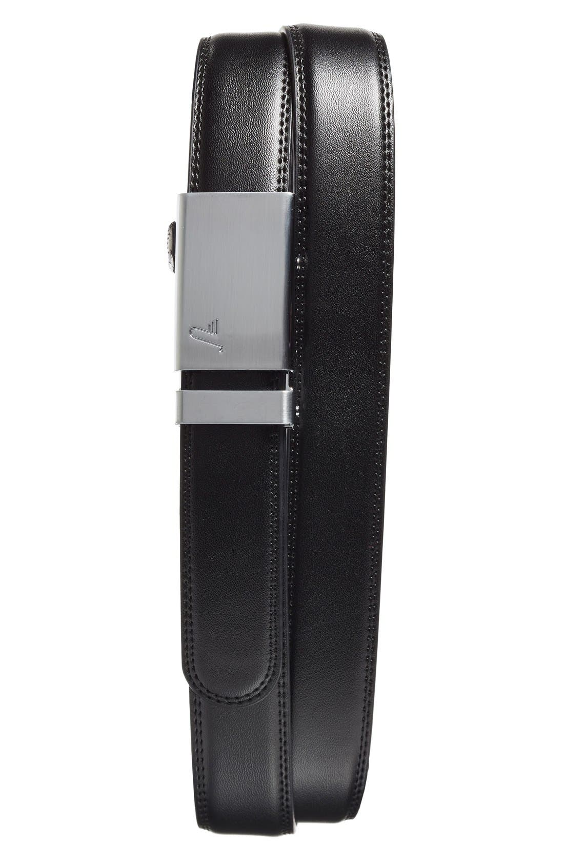MISSION BELT Alloy Leather Belt