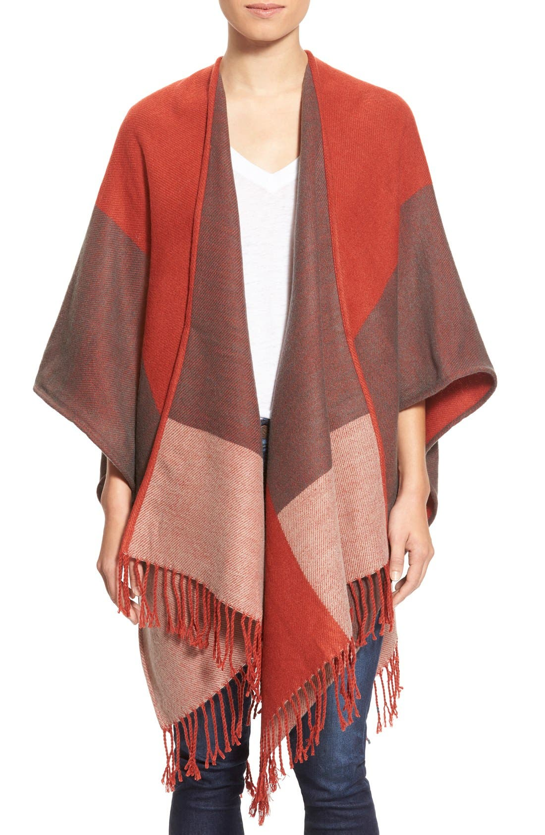 Main Image - Echo Colorblock Reversible Cape