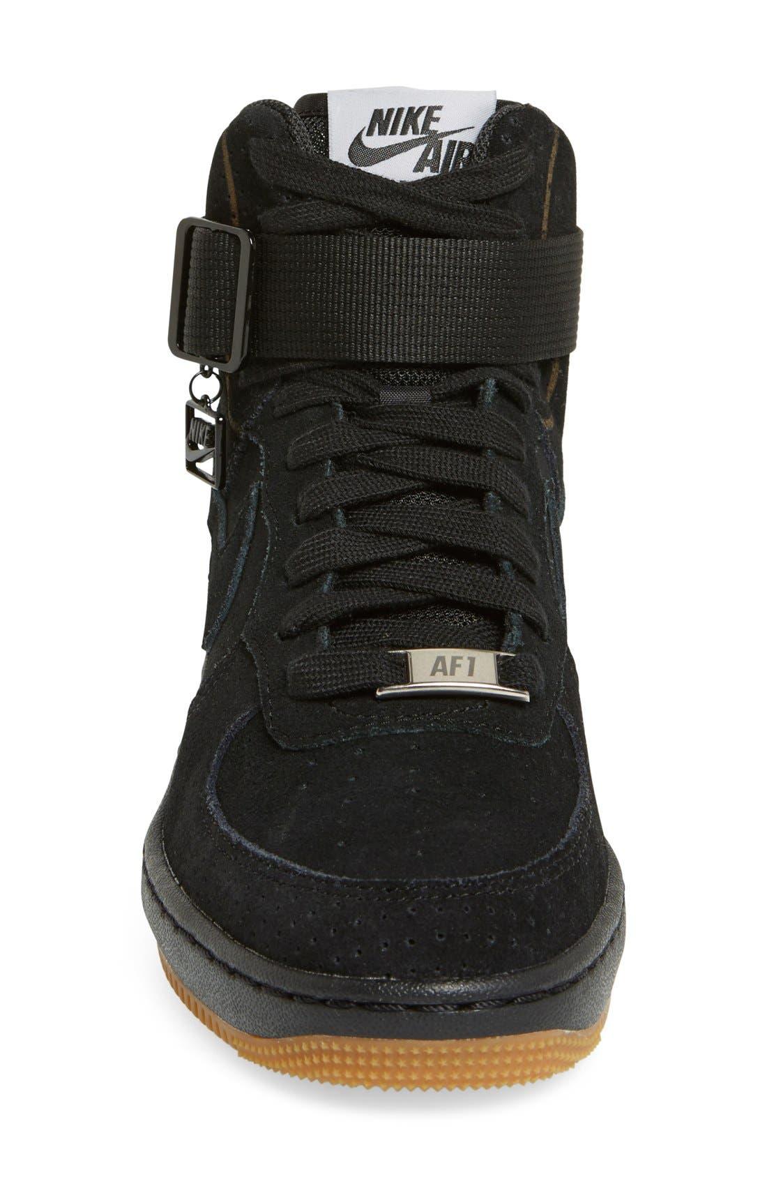 Alternate Image 4  - Nike 'Lunar Force Sky Hi' Wedge Sneaker (Women)