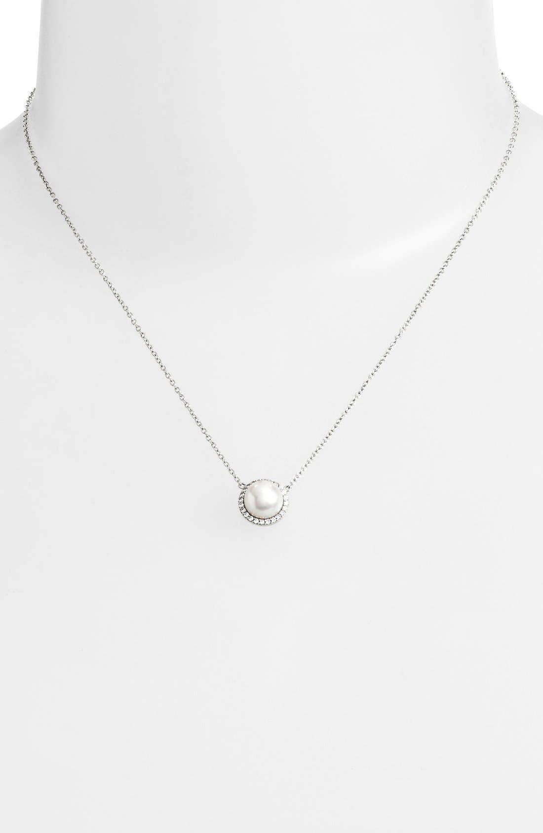 Alternate Image 2  - Lafonn'Lassaire' Pearl Pendant Necklace