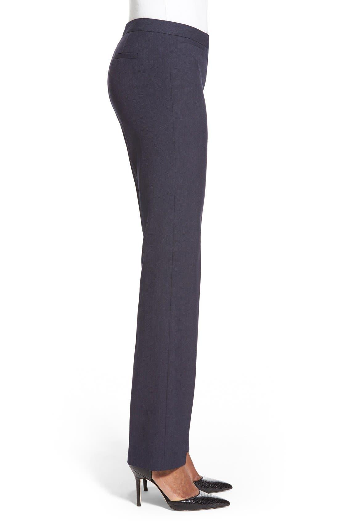 Alternate Image 3  - Halogen® 'Taylor' Stretch SuitPants (Regular & Petite)