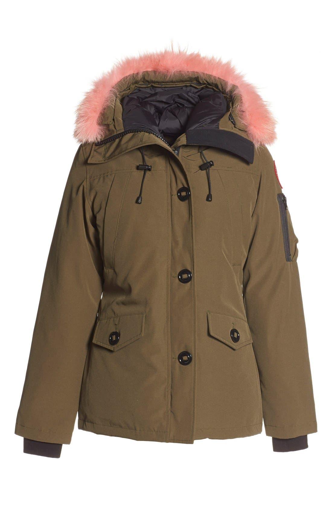 Alternate Image 3  - Canada Goose 'Montebello' Down Parka with Interchangeable Genuine Coyote Fur Trim (Women)