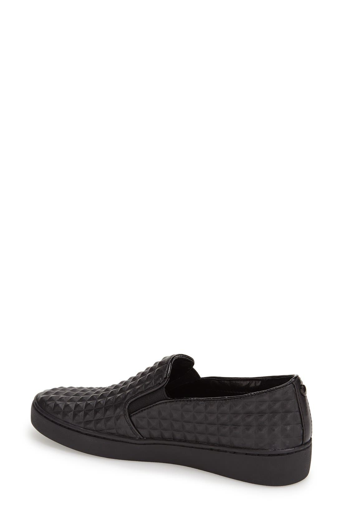 Alternate Image 2  - MICHAEL Michael Kors 'Pratt' Studded Slip-On Sneaker (Women)