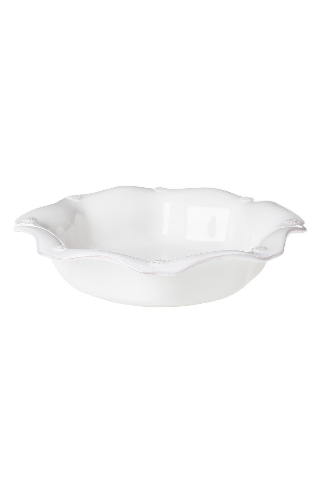'Berry and Thread' Scallop Pasta Bowl,                         Main,                         color, Whitewash