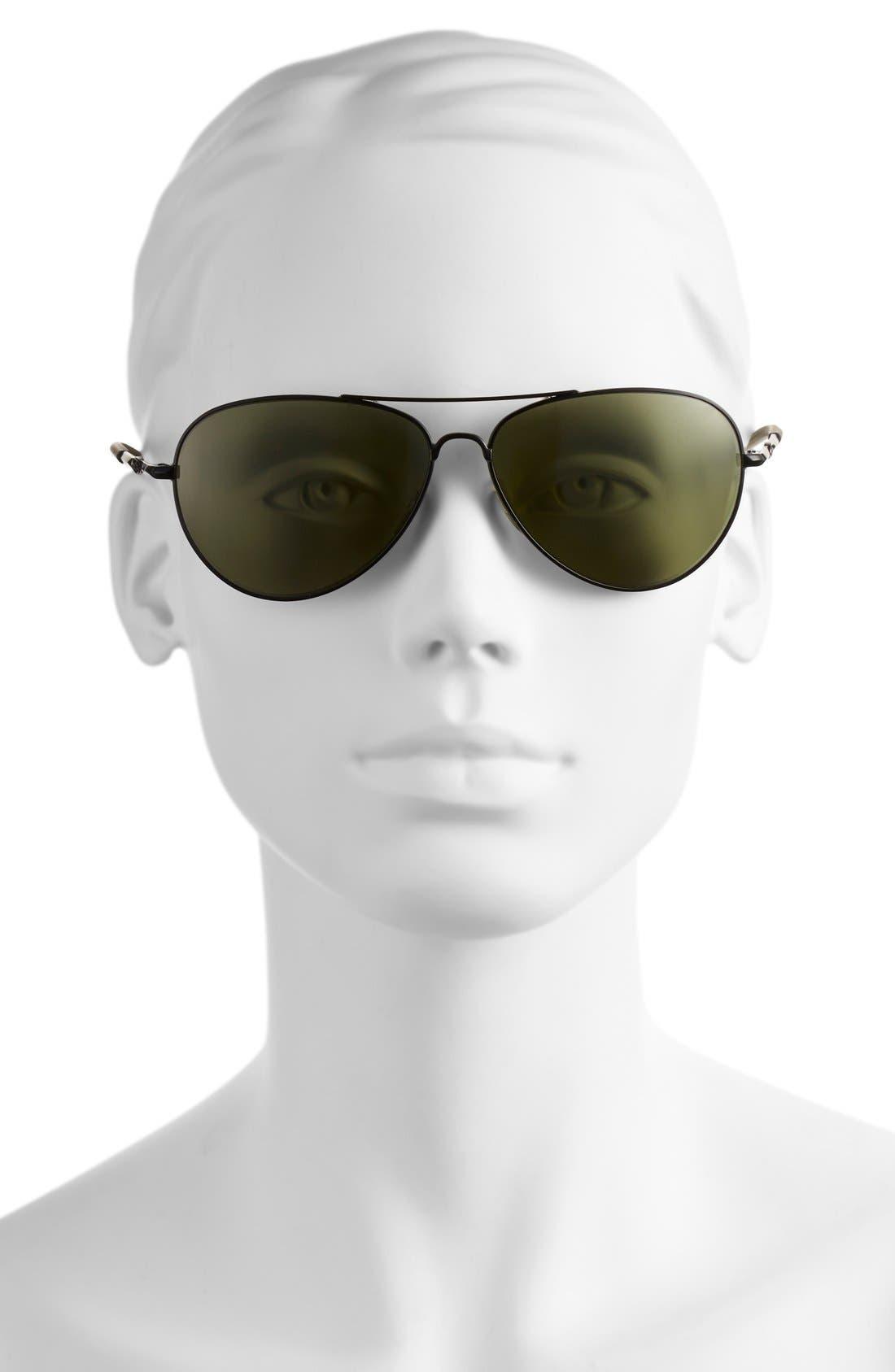 Alternate Image 2  - Smith 'Audible - ChromaPop' 60mm Polarized Aviator Sunglasses