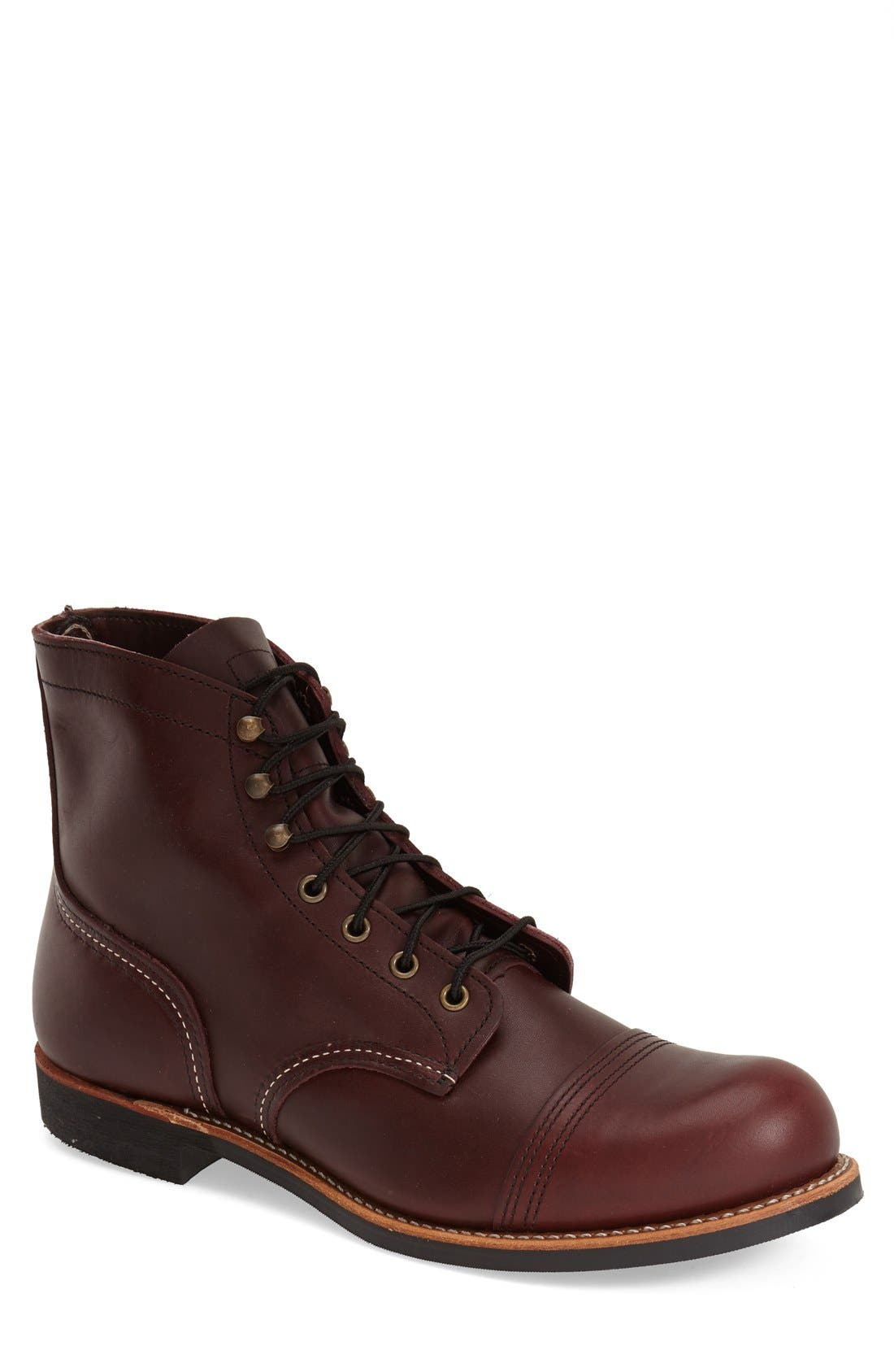 Red Wing 'Iron Ranger' 6 Inch Cap Toe Boot (Men)
