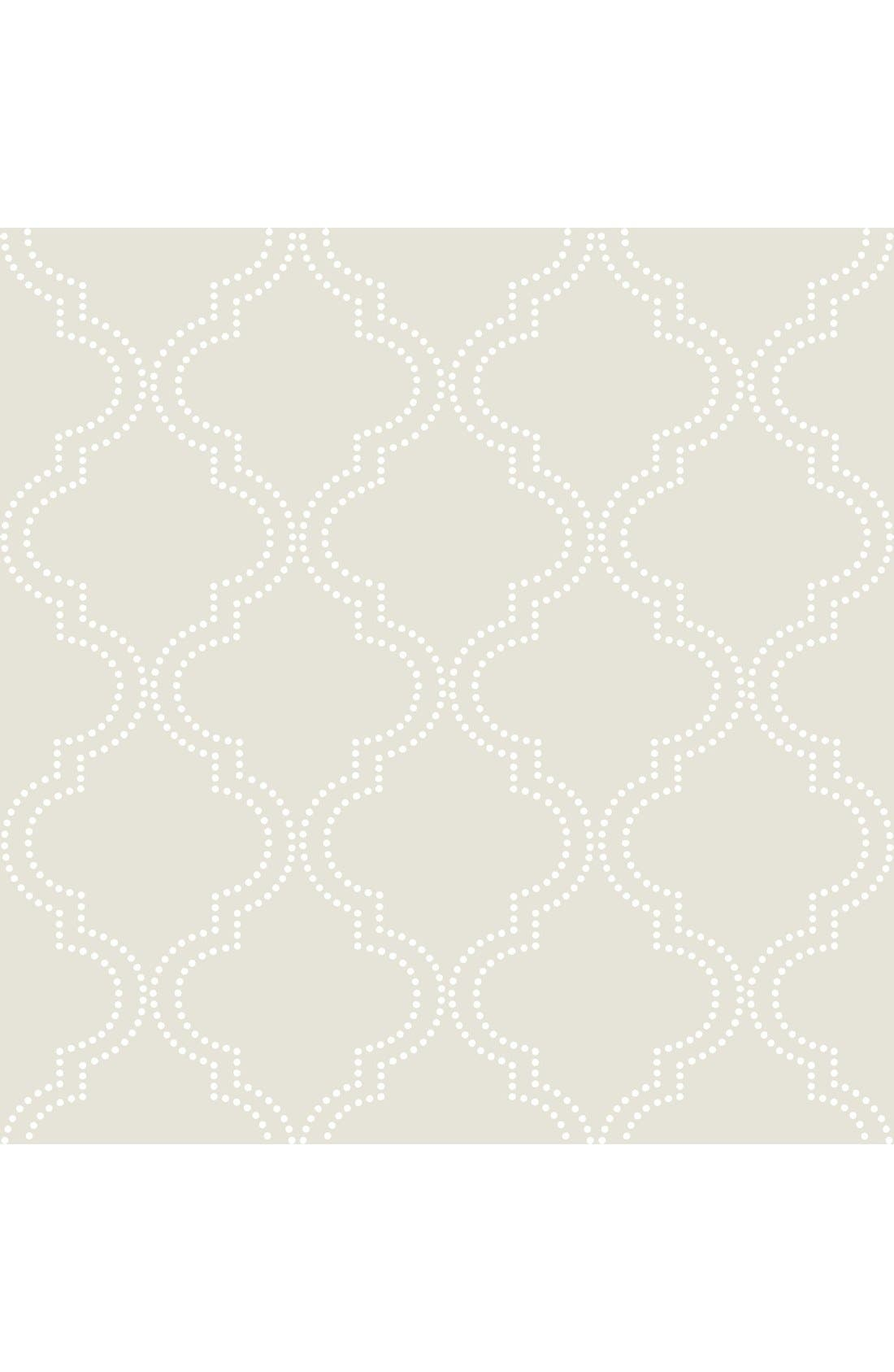Main Image - Wallpops 'Quatrefoil'  Peel & Stick Vinyl Wallpaper