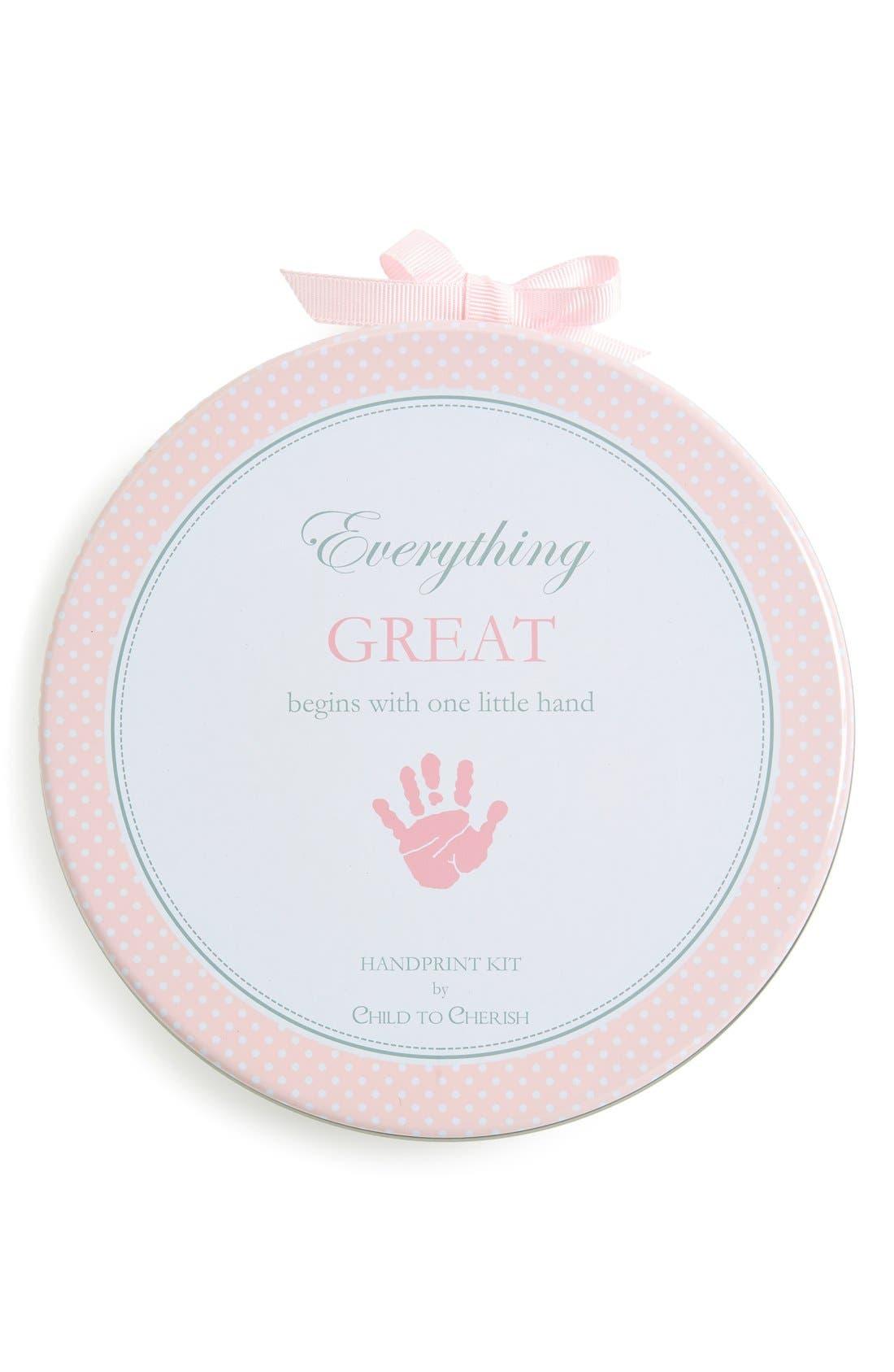 Main Image - Child to Cherish HandprintKit
