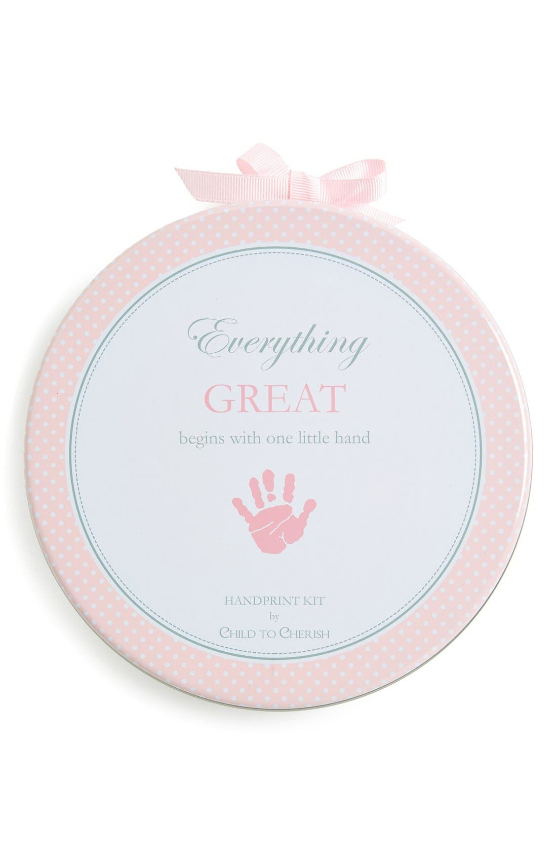 HandprintKit,                         Main,                         color, Pink