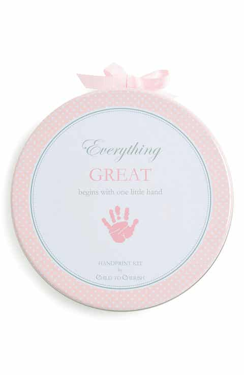 Pink personalized baby gifts nordstrom child to cherish handprint kit negle Gallery