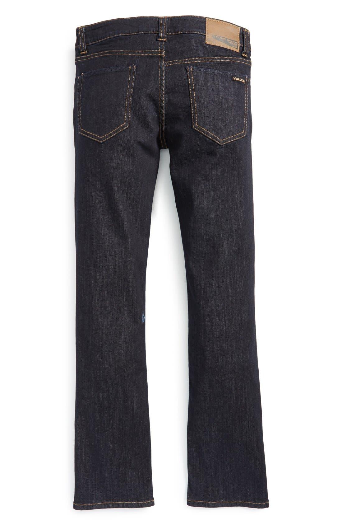 Volcom 'Vorta' Slim Fit Jeans (Little Boys)