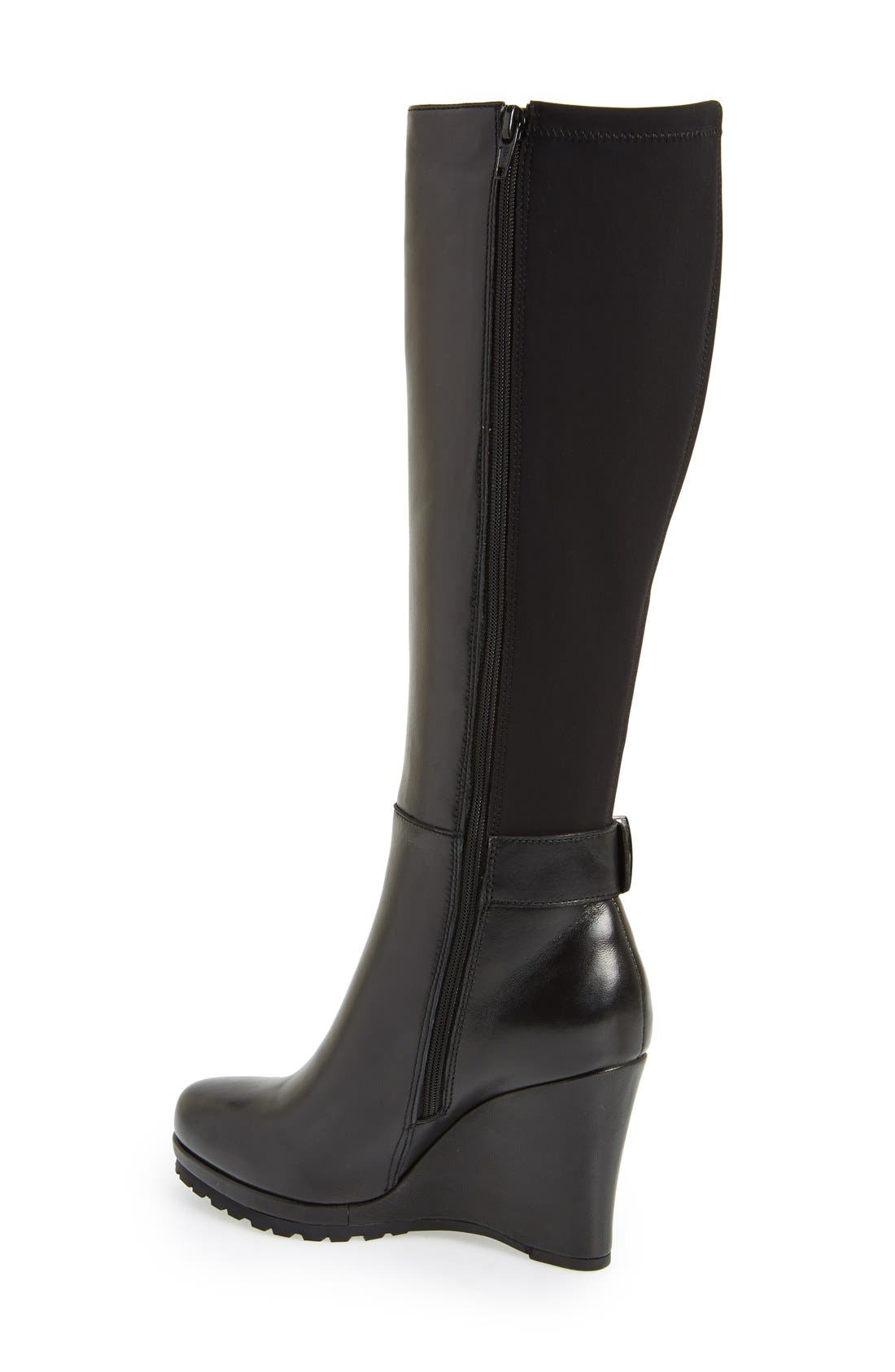 Alternate Image 2  - VANELi 'Jaylene' Stretch Back Wedge Boot (Women)