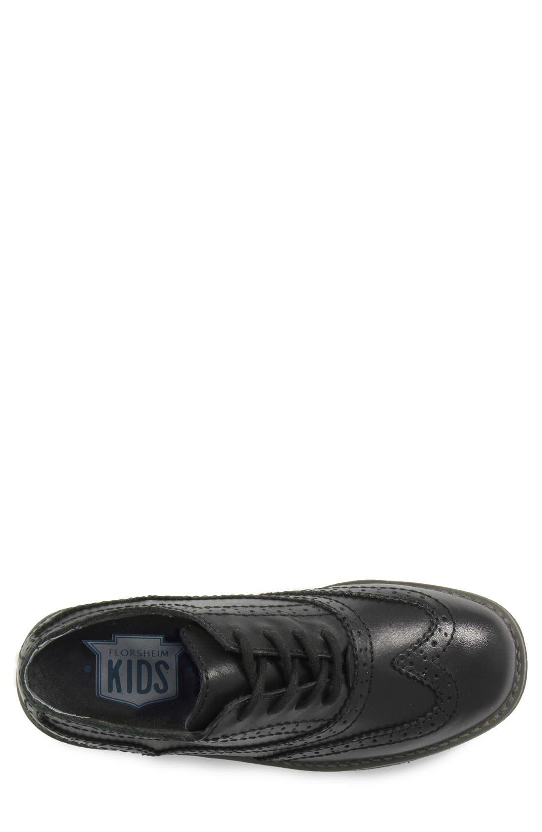 Alternate Image 3  - Florsheim 'Bucktown' Wingtip (Toddler, Little Kid & Big Kid)