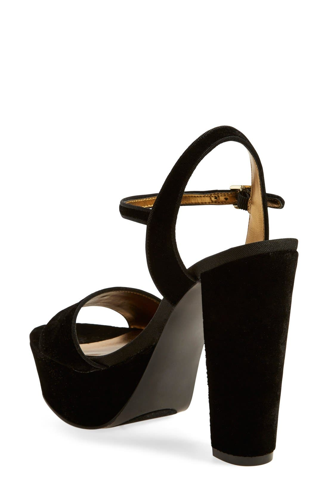 Alternate Image 4  - Nine West 'Carnation' Platform Sandal (Women)