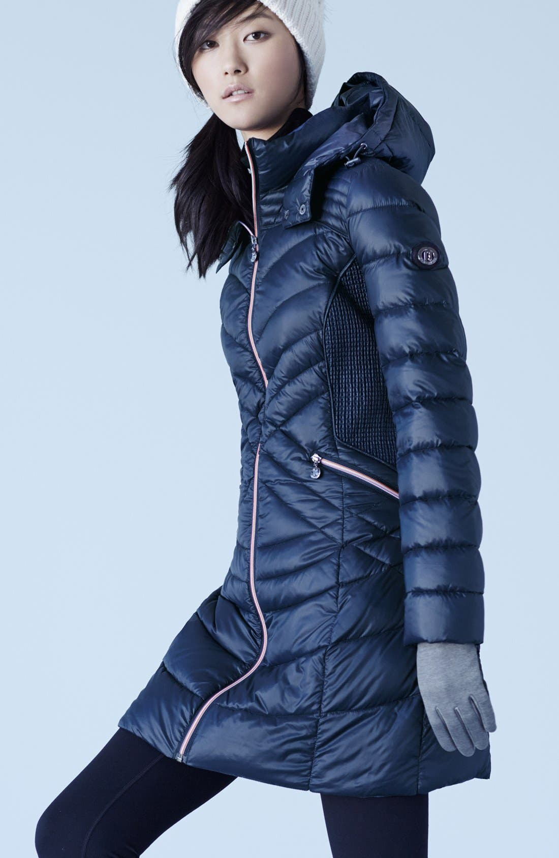Alternate Image 4  - Bernardo Hooded Down & PrimaLoft® Fill Coat (Regular & Petite)