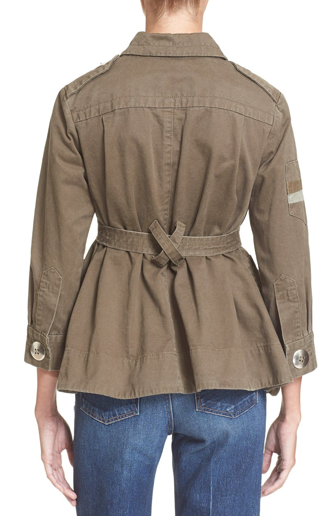 Alternate Image 2  - MARC BY MARC JACOBS Cotton Twill Military Jacket
