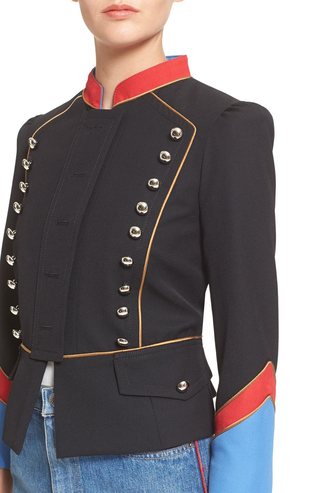 Alternate Image 4  - MARC BY MARC JACOBS Gabardine Military Jacket