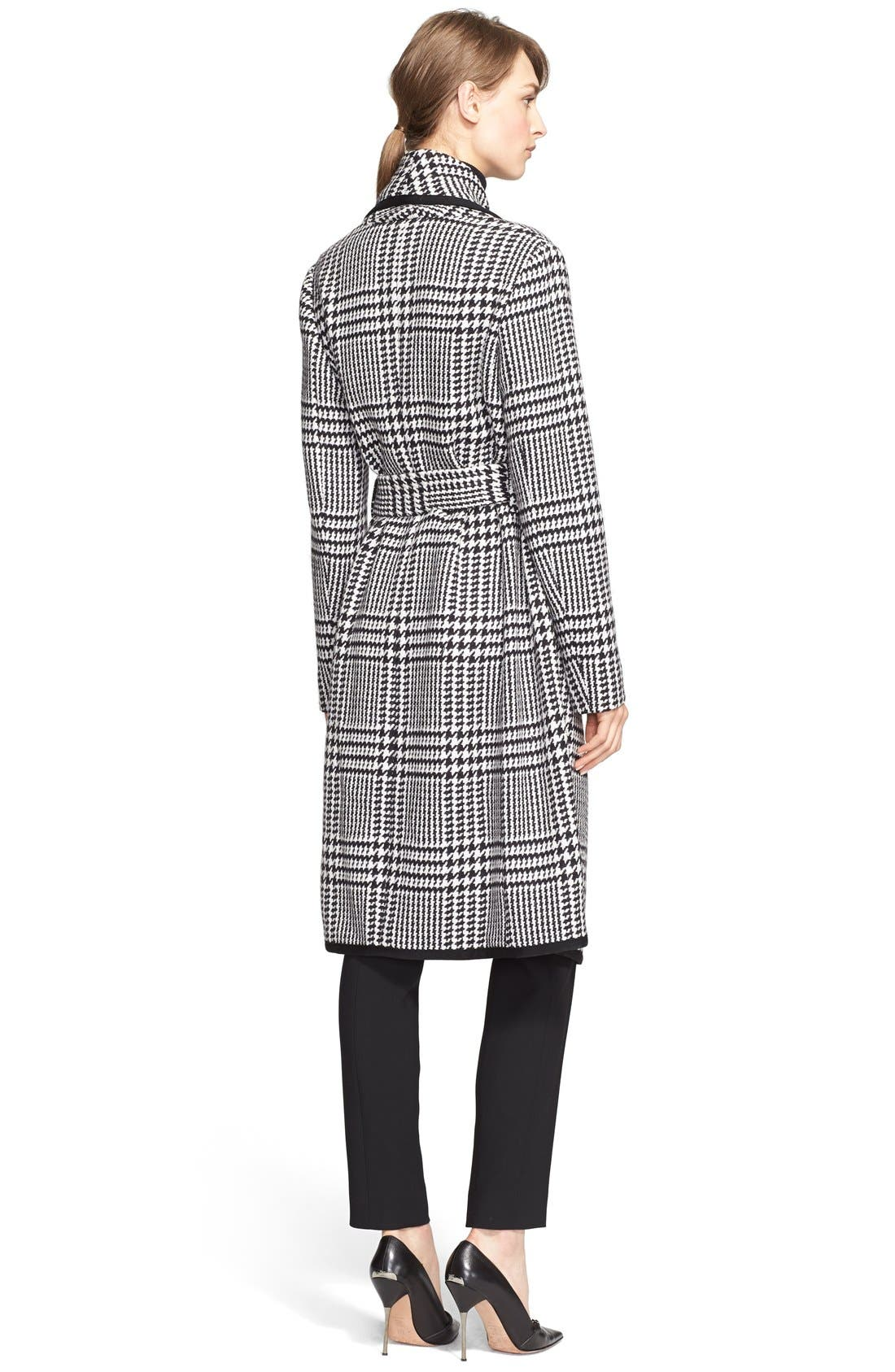 Alternate Image 2  - ESCADA Macro Houndstooth Stretch Wool Coat