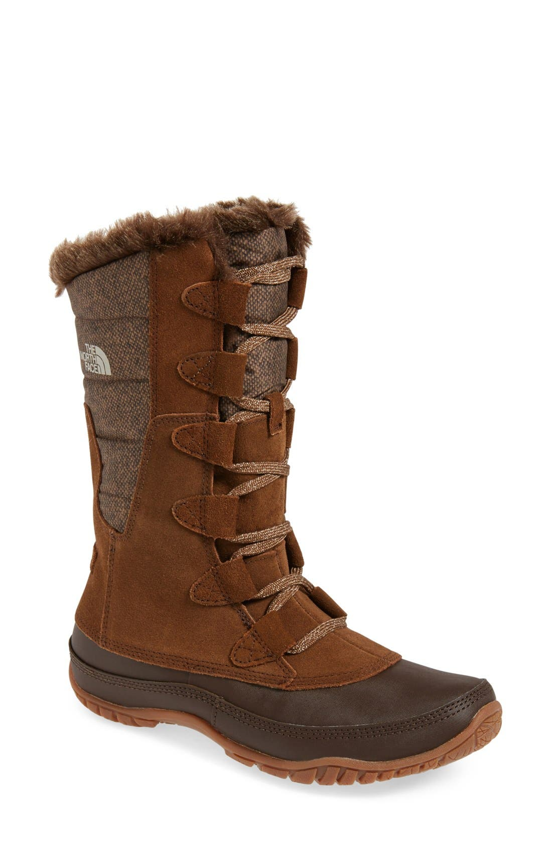 Main Image - The North Face 'Nuptse Purna' Waterproof PrimaLoft® Eco Insulated Winter Boot (Women)