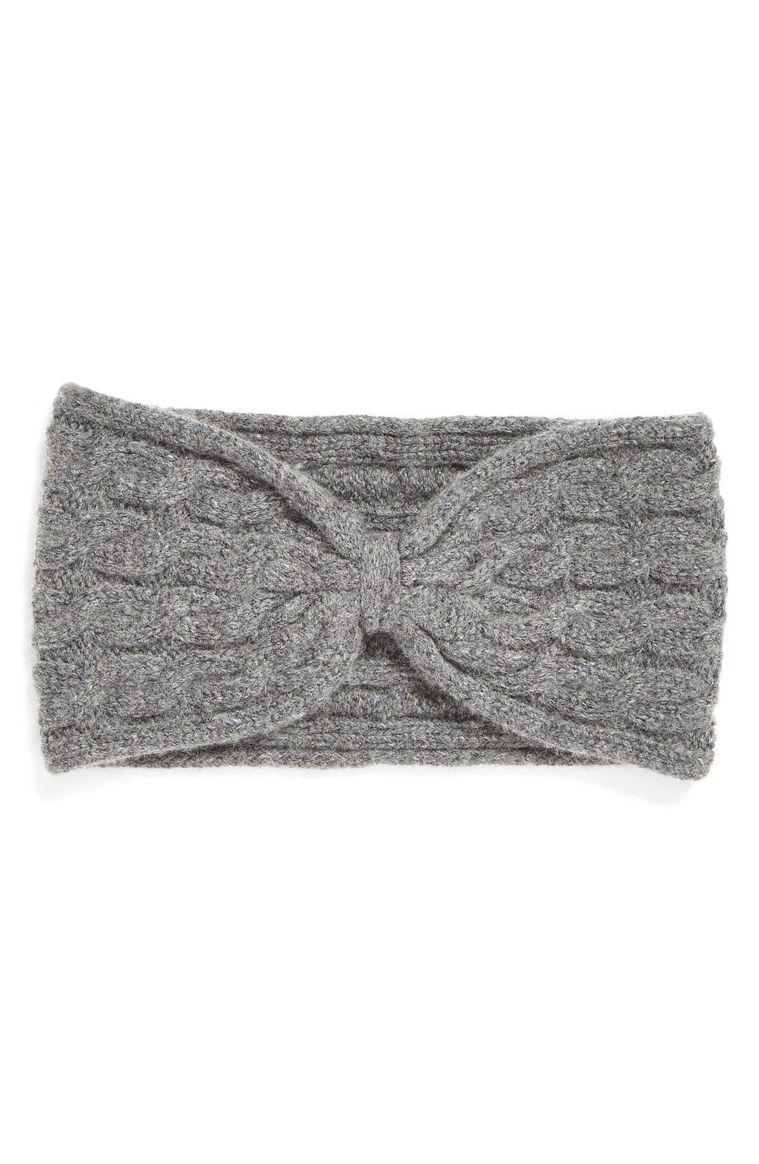 Main Image - Lemon Cable Knit Head Wrap