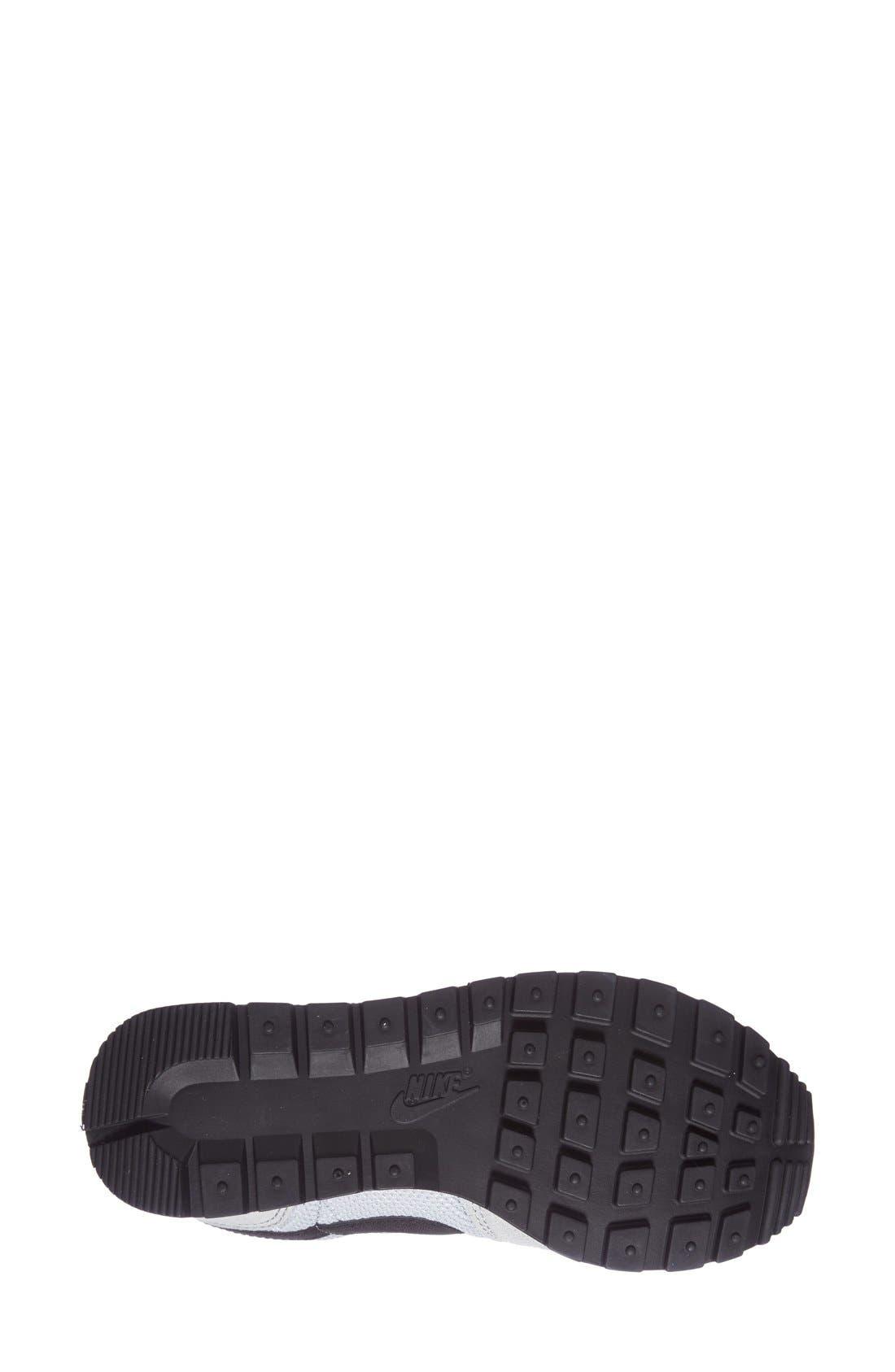'Air Pegasus 83' Sneaker,                             Alternate thumbnail 4, color,                             Grey/ Black/ Red
