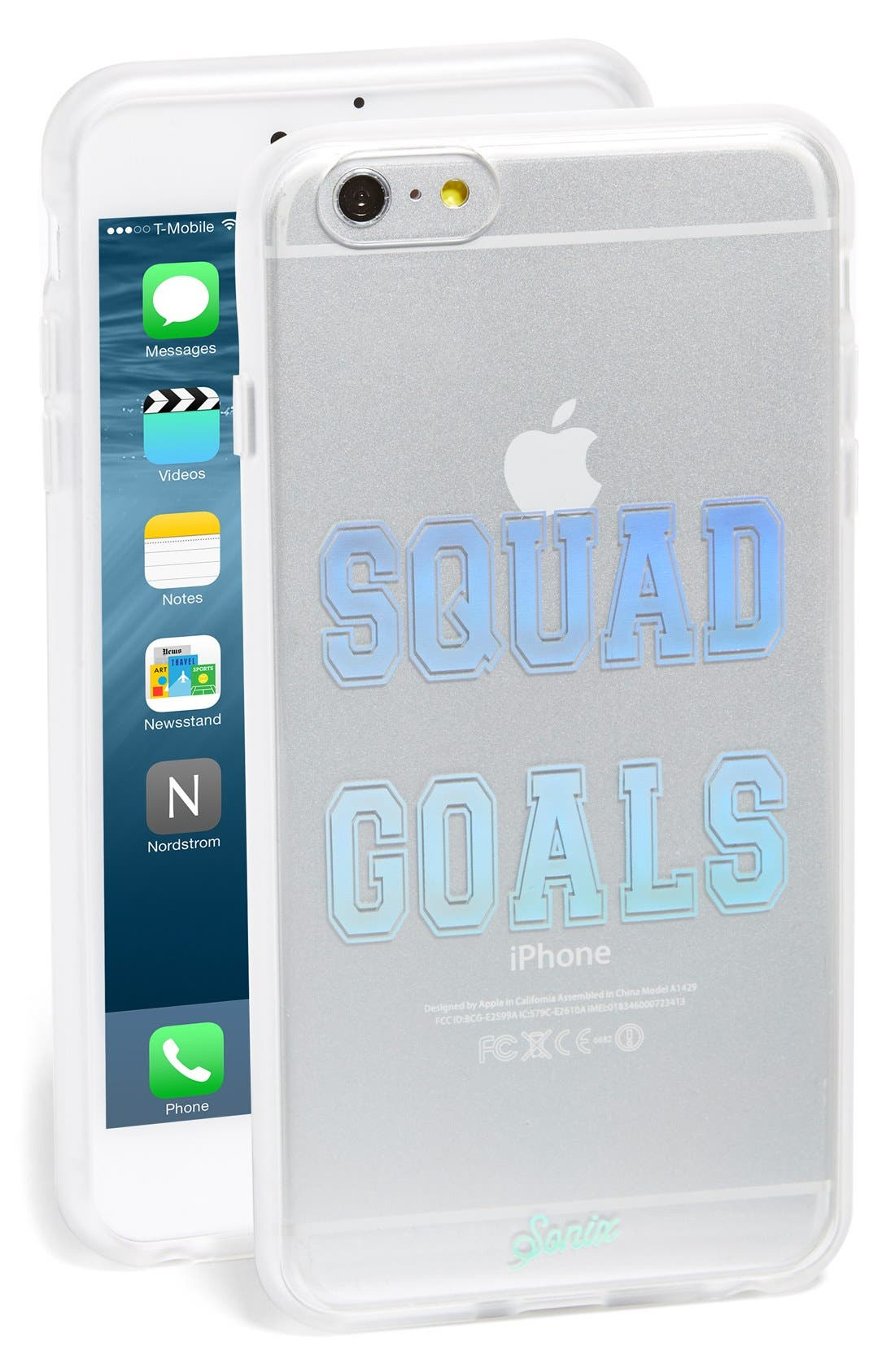 Alternate Image 1 Selected - Sonix 'Squad Goals' iPhone 6 Plus & 6s Plus Case