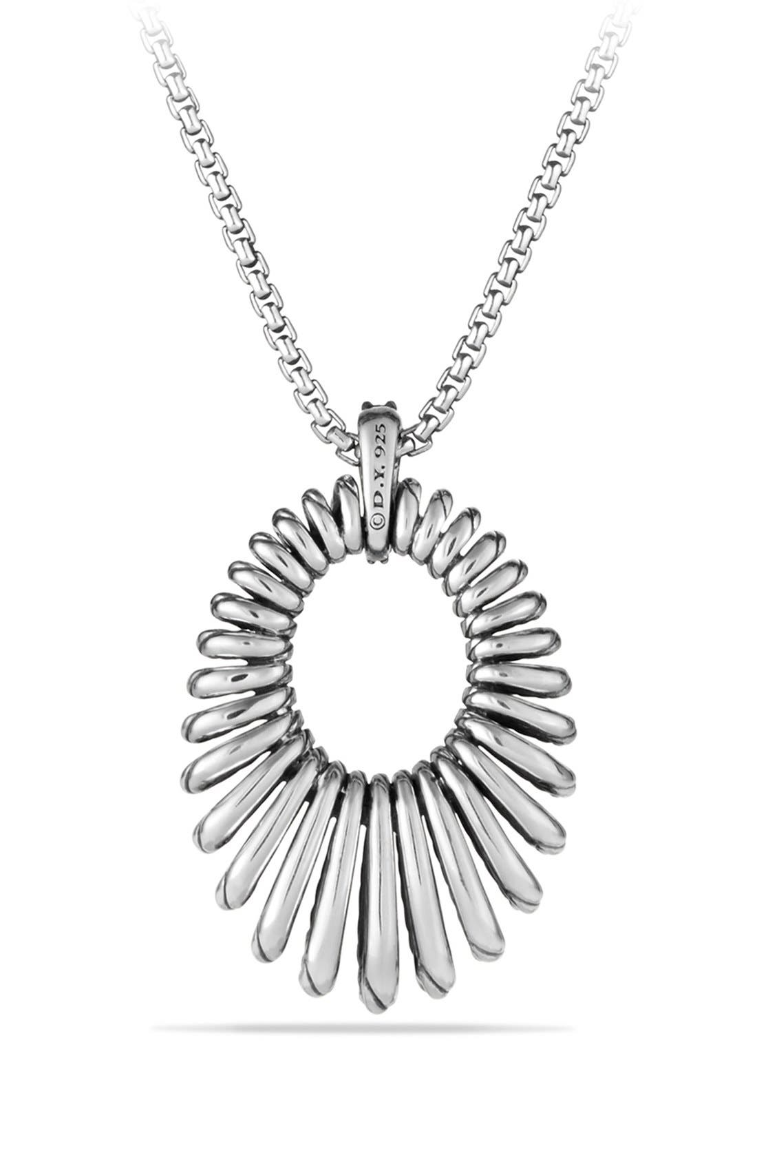 Alternate Image 3  - David Yurman 'Tempo' Necklace with Black Spinel