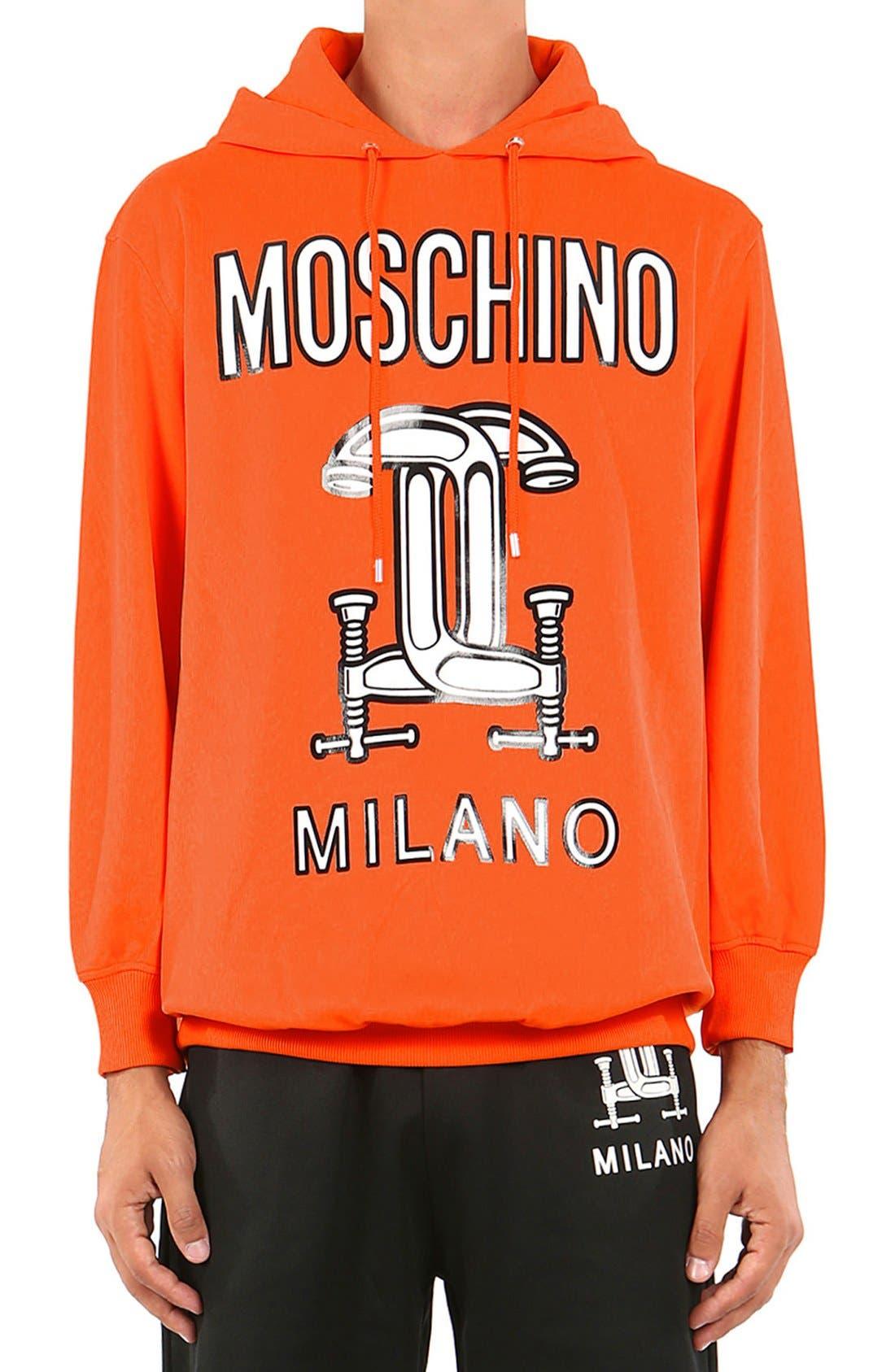 Moschino '2nd Story' Hooded GraphicSweatshirt (Unisex)