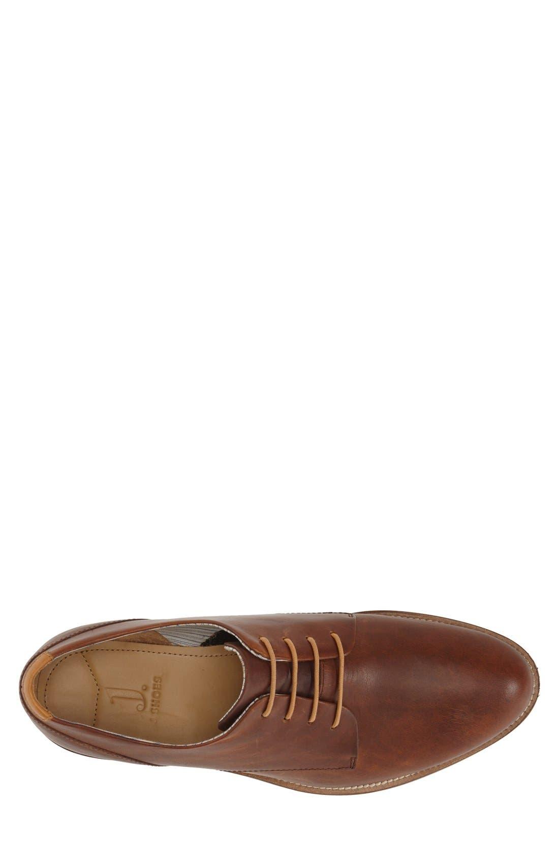 'William Plus' Plain Toe Derby,                             Alternate thumbnail 3, color,                             Brass