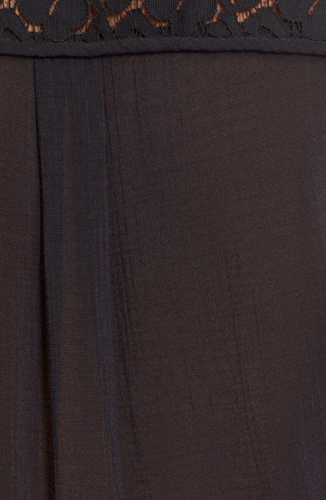 Alternate Image 5  - Derek Lam 10 Crosby Lace Inset Dress