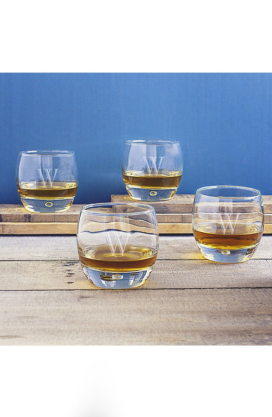 Personalized Whiskey Glasses,                             Main thumbnail 1, color,                             W