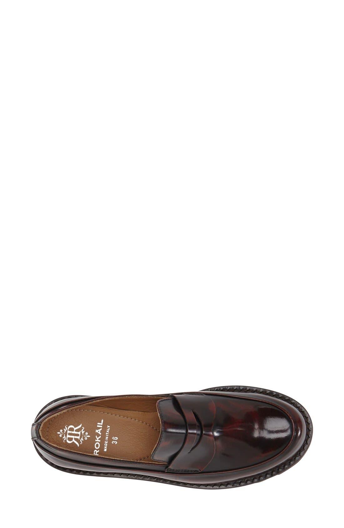 Alternate Image 3  - Rokail Lug Loafer (Women)