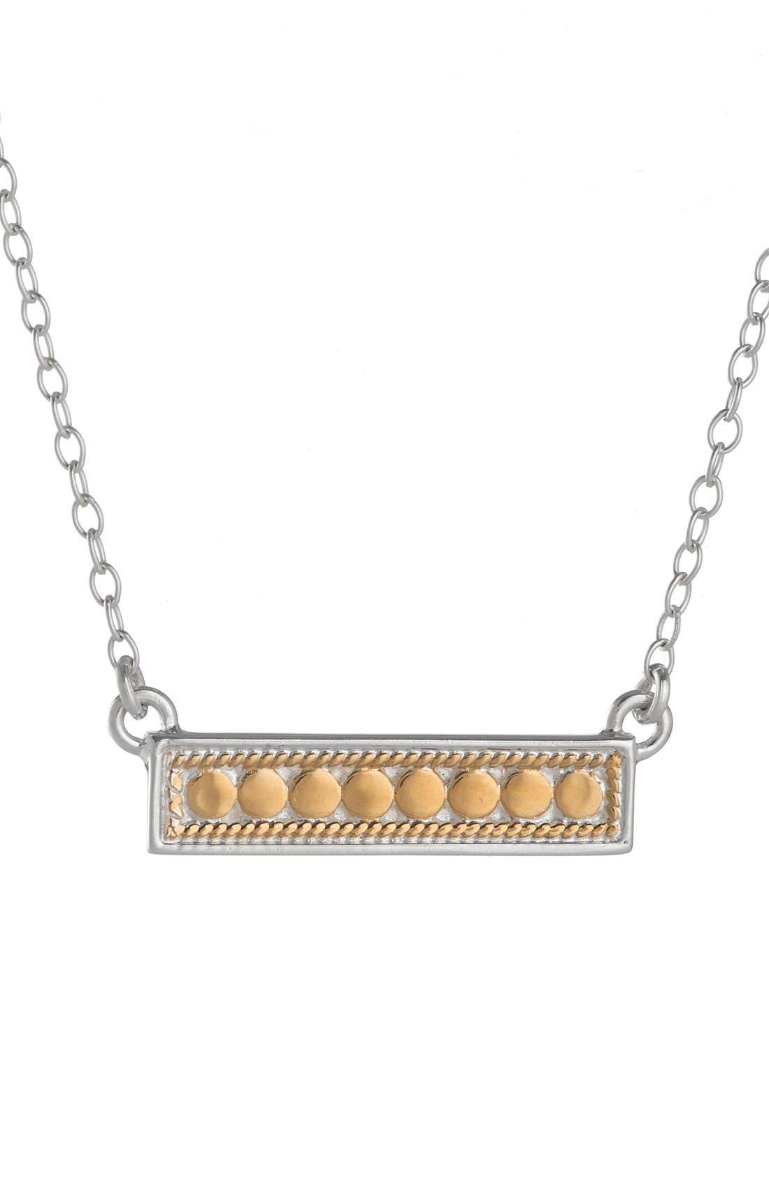ANNA BECK Gili Bar Pendant Necklace