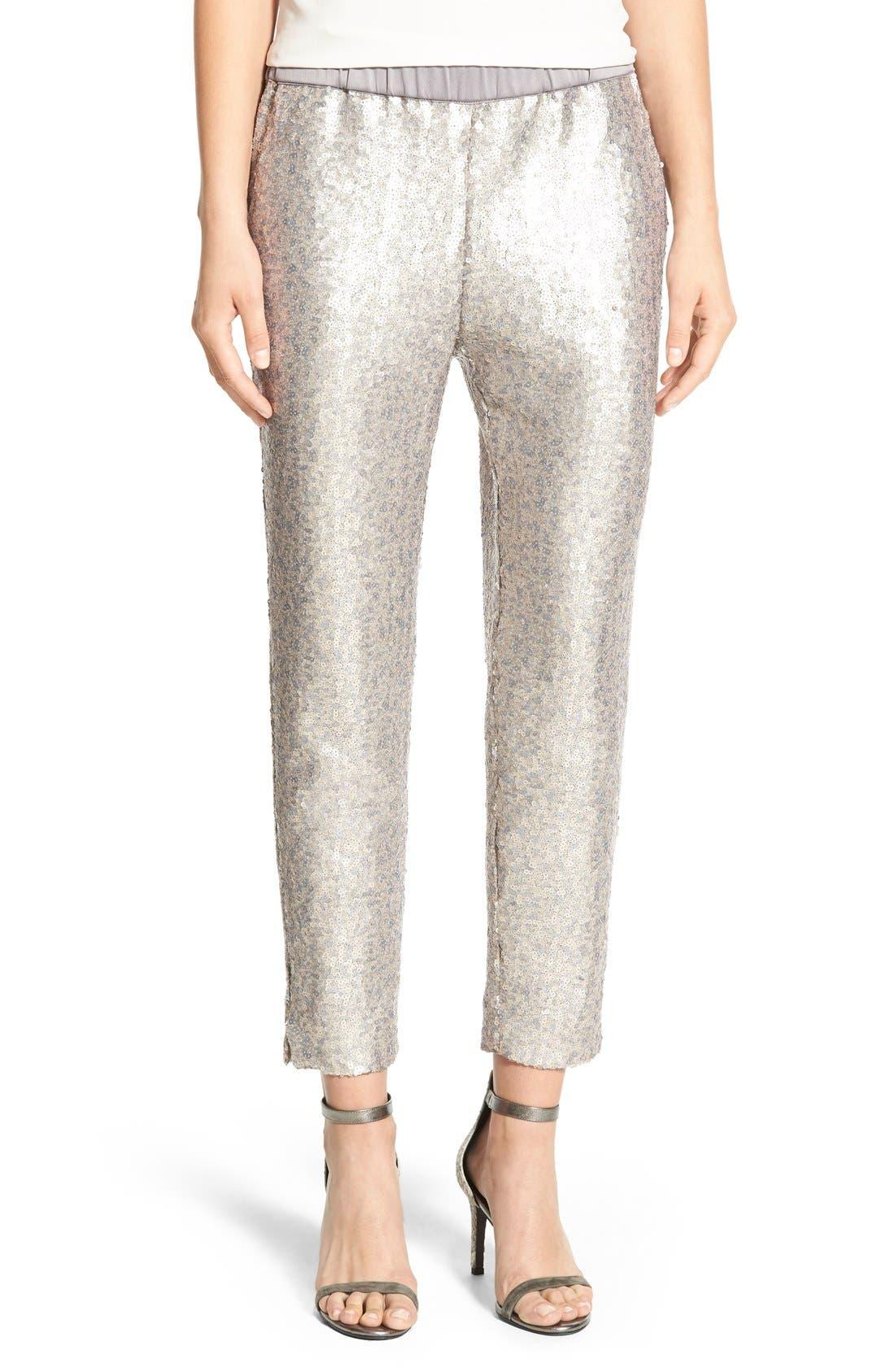 Alternate Image 1 Selected - Chelsea28 Sequin Pants