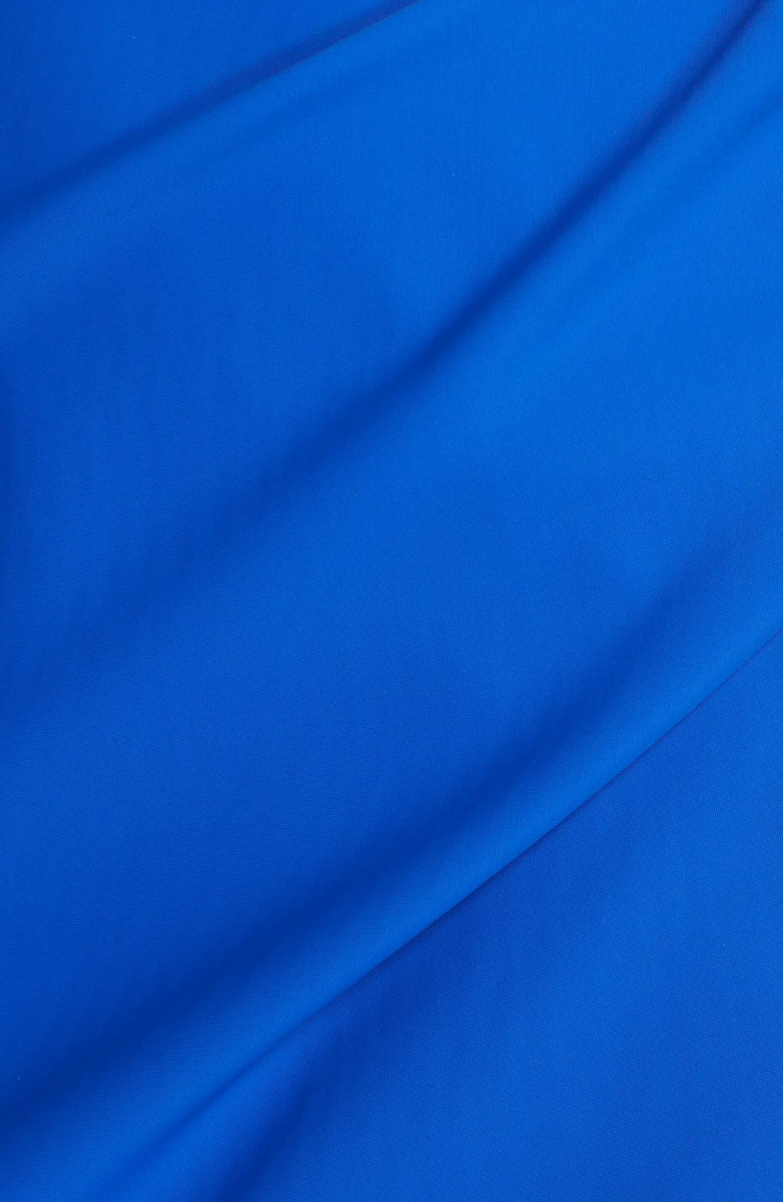 Side Ruched Dress,                             Alternate thumbnail 6, color,                             Royal