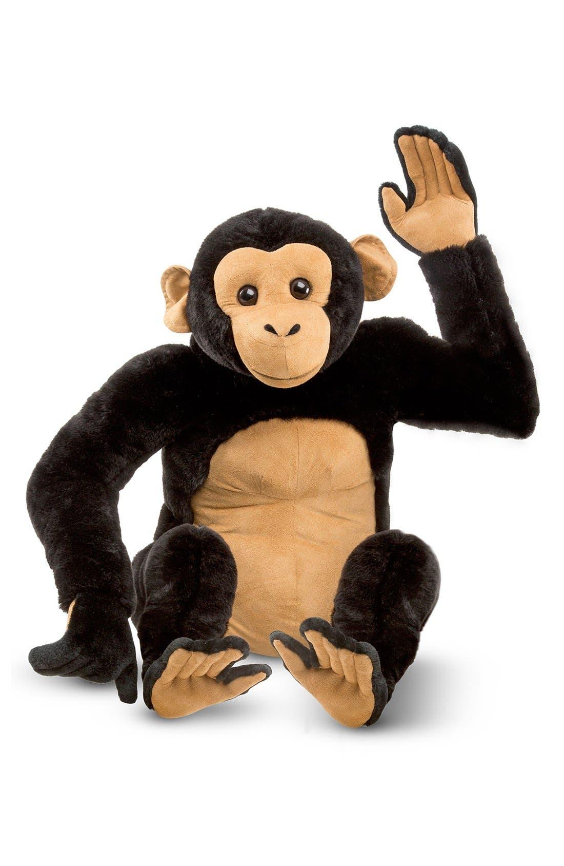 Oversized Chimpanzee,                             Alternate thumbnail 2, color,                             Brown